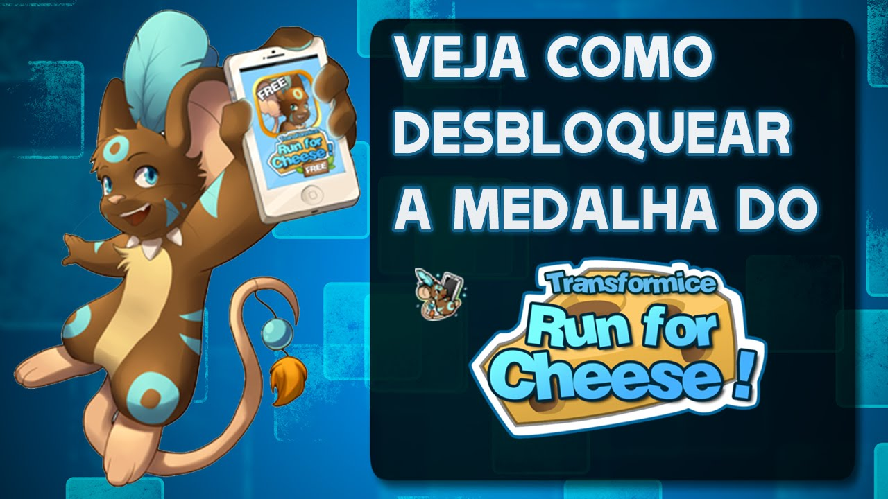 TRANSFORMICE - [Tutorial] How to unlock Run for Cheese badge