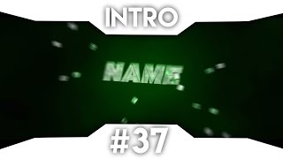 Free Green Intro Template - C4D - AE