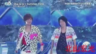 Kis-My-Ft2  Sha la la☆Summer Time間奏シーン