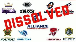 BREAKING INSIDER INFO: AAF TO DISSOLVE COMPLETELY WITHIN THE NEXT 48 HOURS.