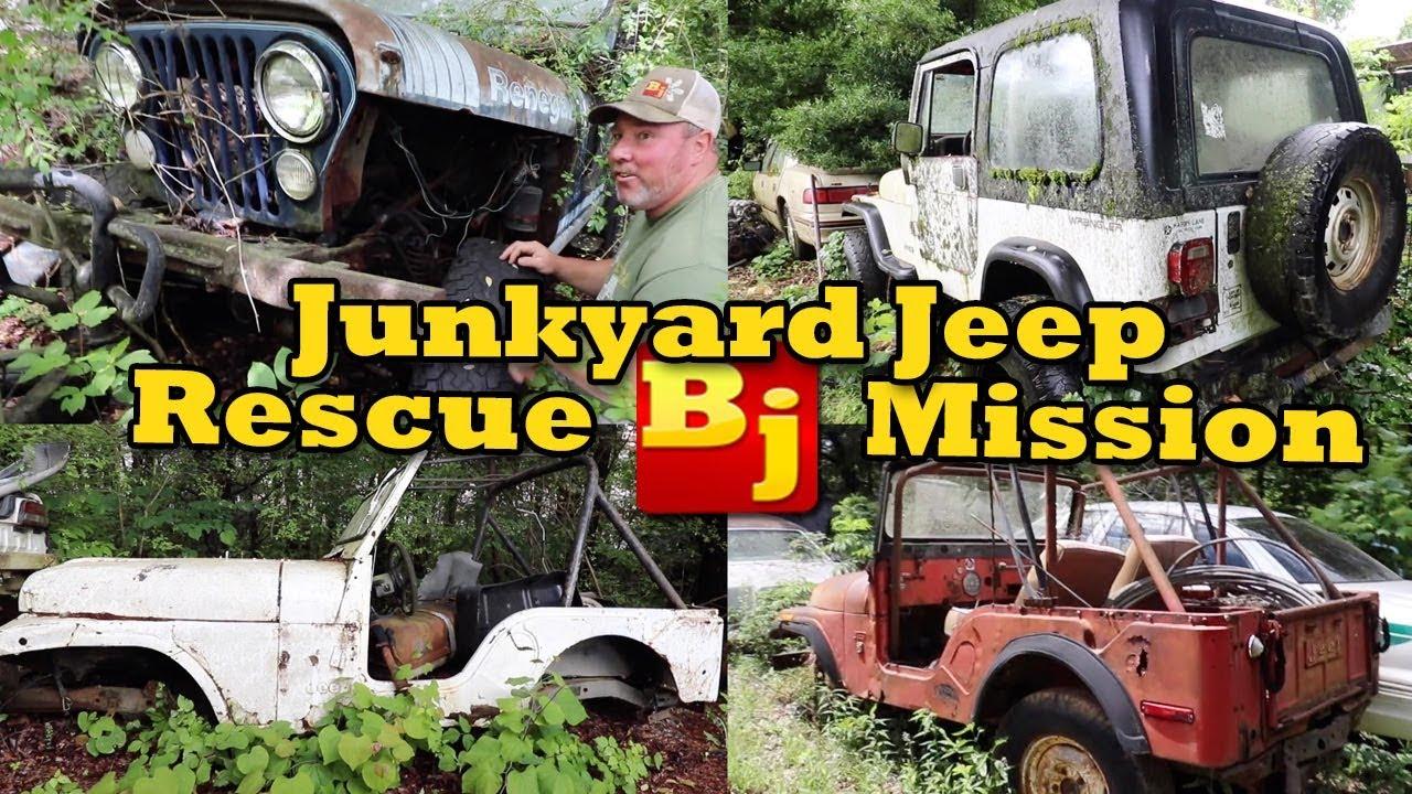 Junkyard Jeep Rescue Mission