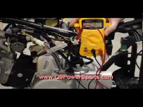 Troubleshooting a Start button on Chinese Youth ATV | Q9 PowerSports USA