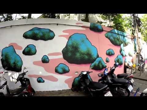 Bangkok Street Art Tour 2016