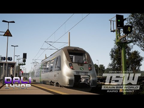 Train Sim World®: Rapid Transit 'Metropolitan' PC Gameplay 1440p 60fps