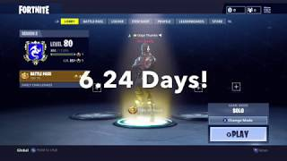 Unlocking the black knight in Fortnite without buying any vbucks/tiers (#1 Victory Royale)