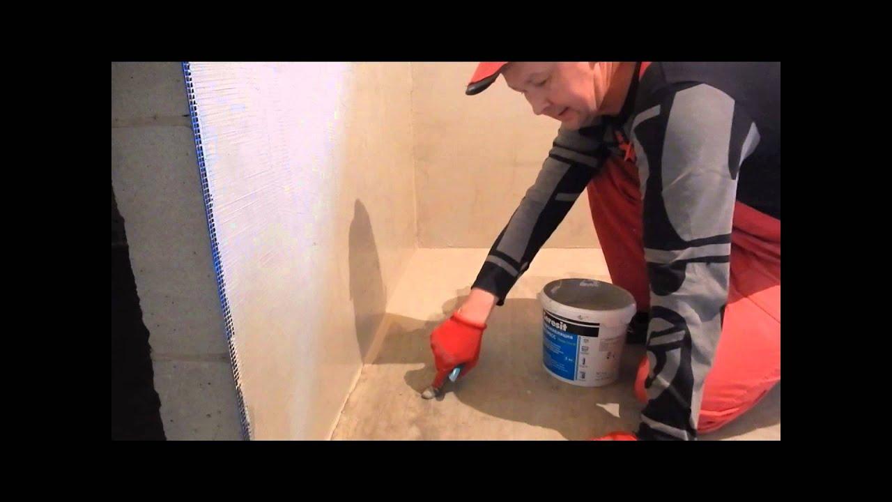 Гидроизоляция душевых комнат наливной пол цена работы за кв м