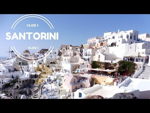 Santorini Vlog l Day 1 l Oia/Ammoudi Bay/Views from Oia Castle l May-June 2016