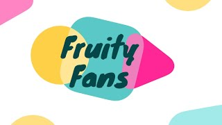 Creative Tuesdays with Liz: Fruity Fans