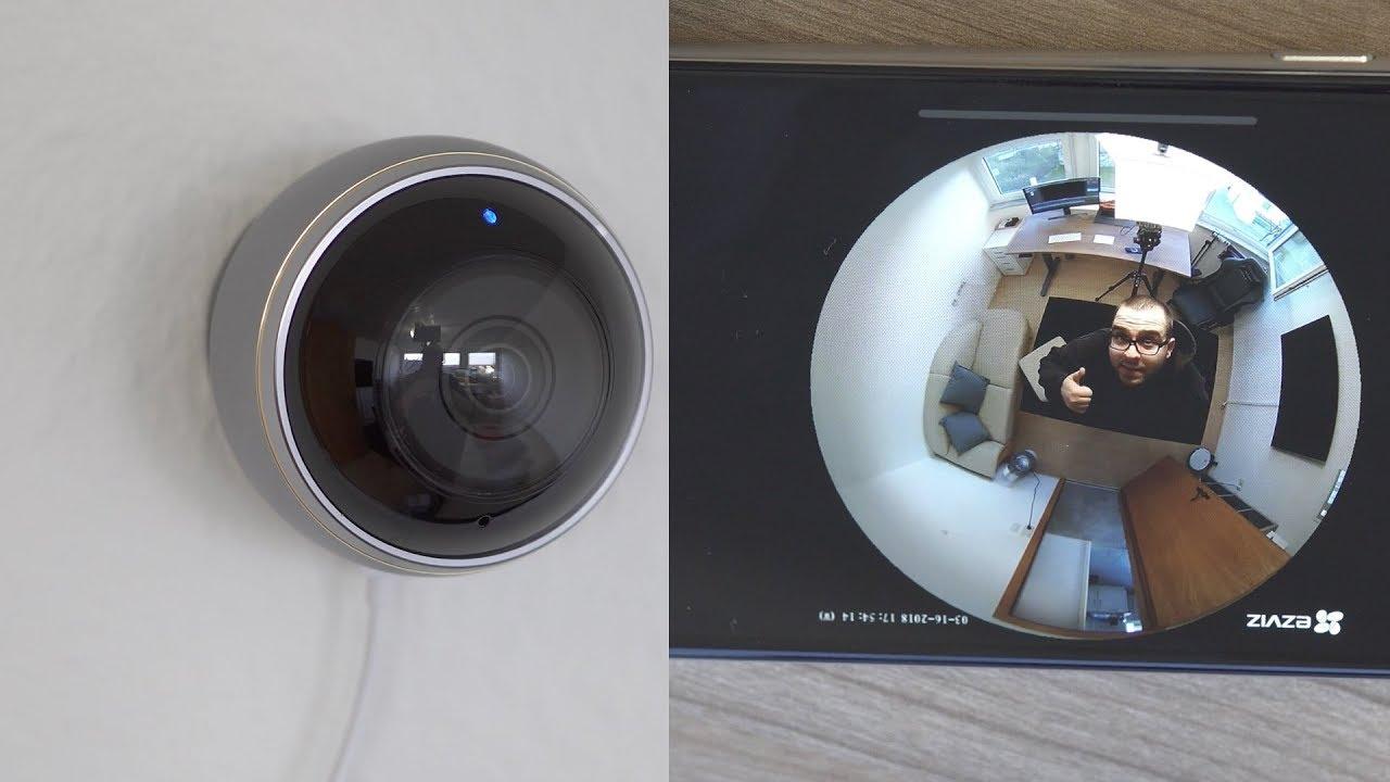 ezviz mini pano berwachungskamera im test gewinnspiel youtube. Black Bedroom Furniture Sets. Home Design Ideas