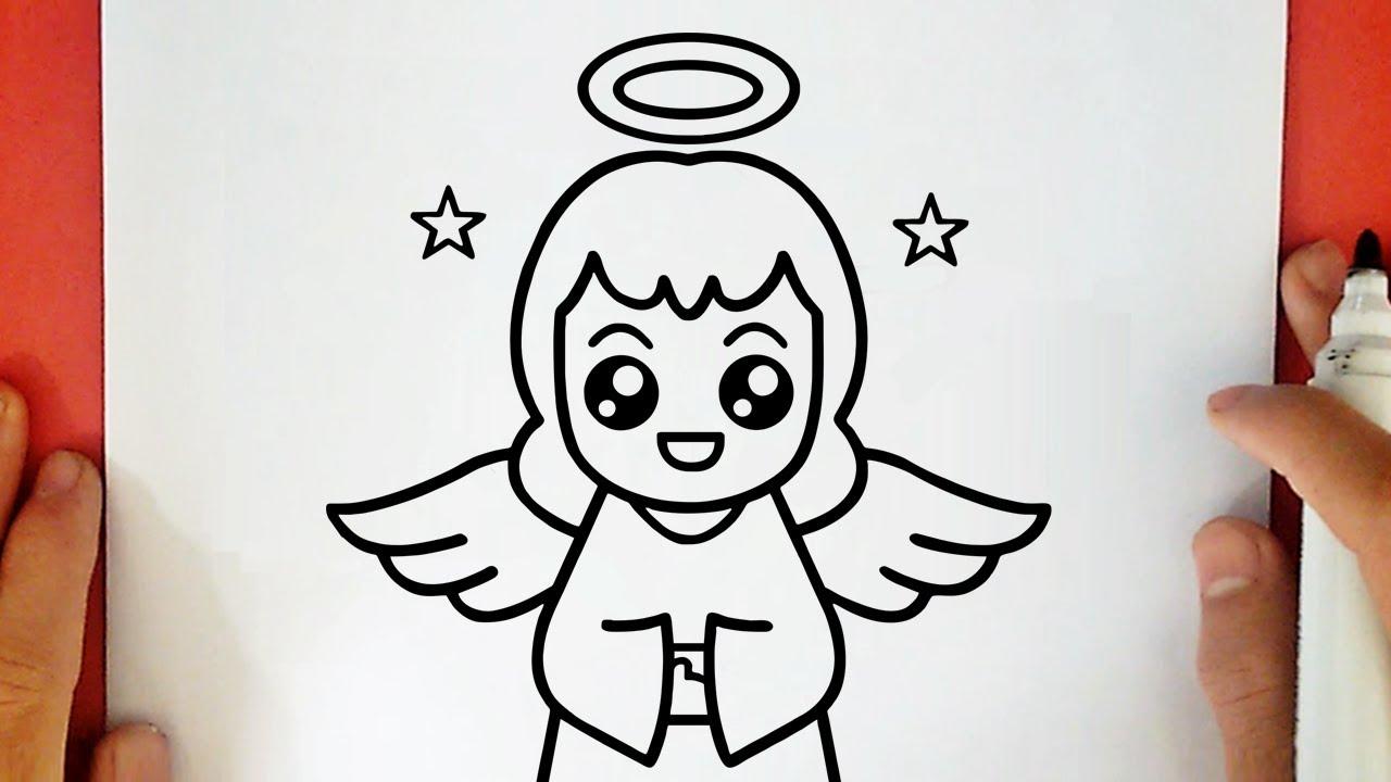 Comment Dessiner Un Ange Kawaii Youtube