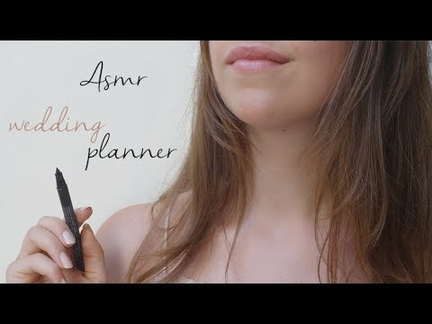 ⭐ [ROLE-PLAY] ASMR français : wedding planner
