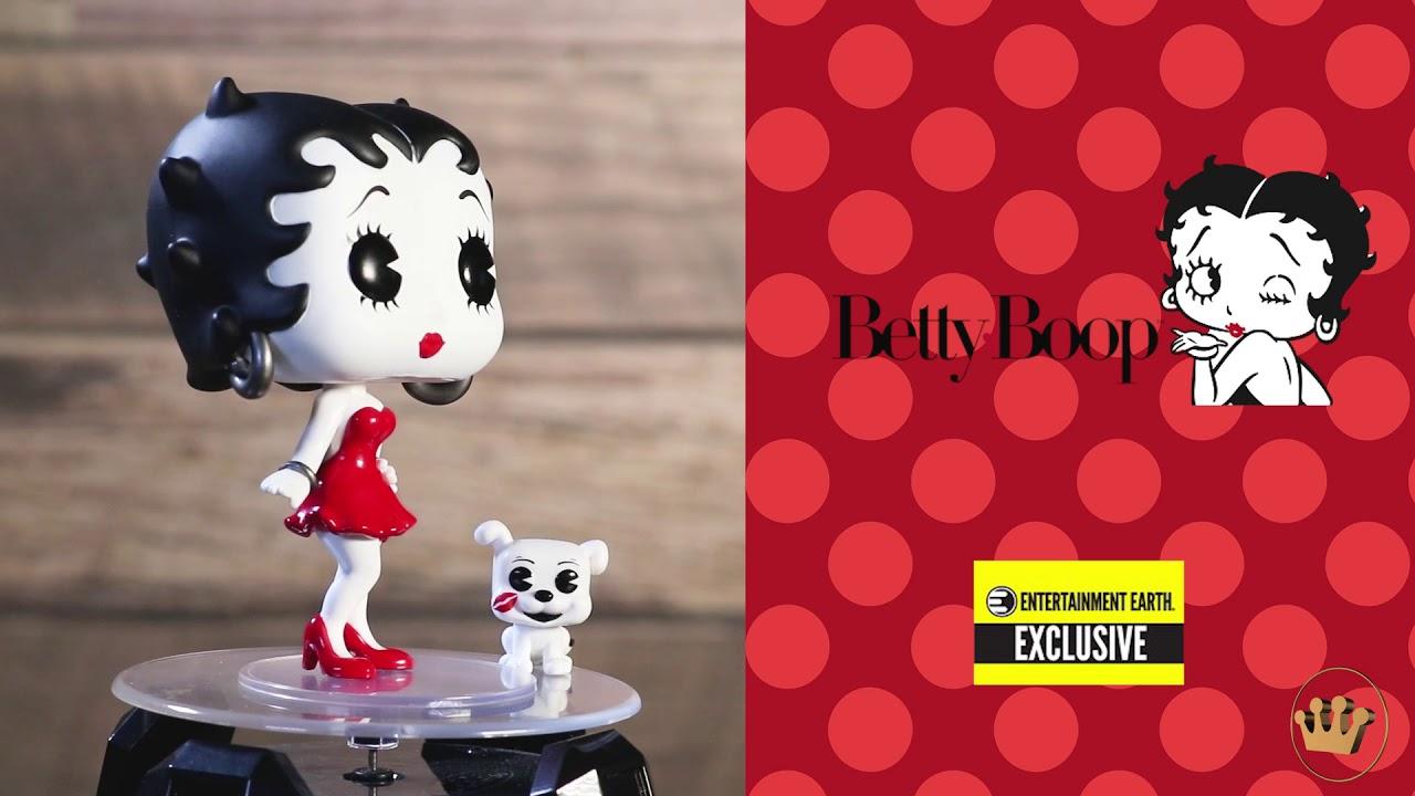Betty Boop™ Sock Hop Betty Boop™ /& Pudgy Vinyl Figure Funko Pop Animation