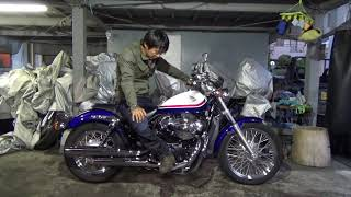 HONDA-VT400S参考動画:ホンダのアメリカン集大成バイク