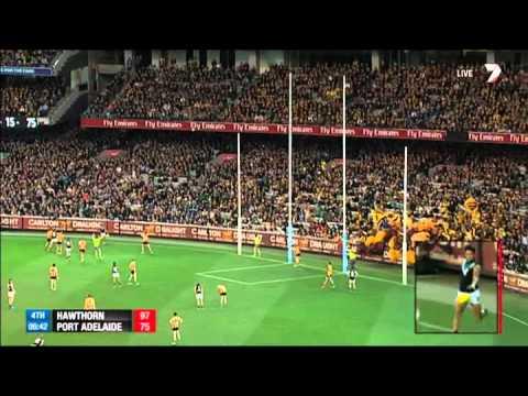 Hawthorn v Port Adelaide highlights - PF, 2014
