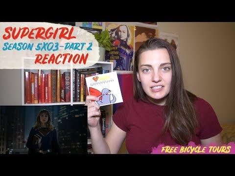 "Supergirl Season 5 Episode 3 ""Blurred Lines"" REACTION Part 2"