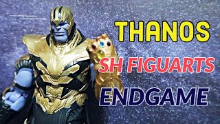 THANOS ACTION FIGURE REVIEW  | Avengers Endgame Sh Figuarts