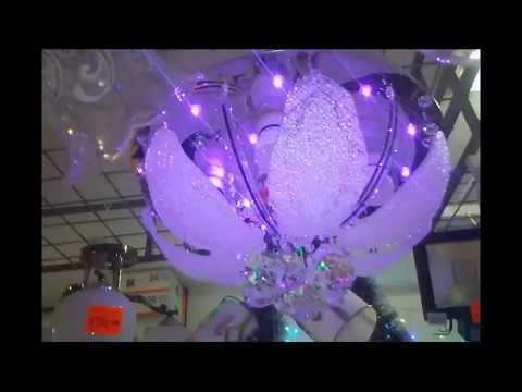 Как собрать люстру луна 1236 3с видео
