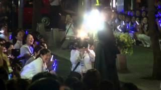 2014年8月31日 東京宝塚劇場宙組千秋楽、壮一帆さんの出待ちです。