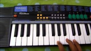 "Baahubali Title song-""Mamatala Talli""(Mamta Se Bhari)  piano tutorial"