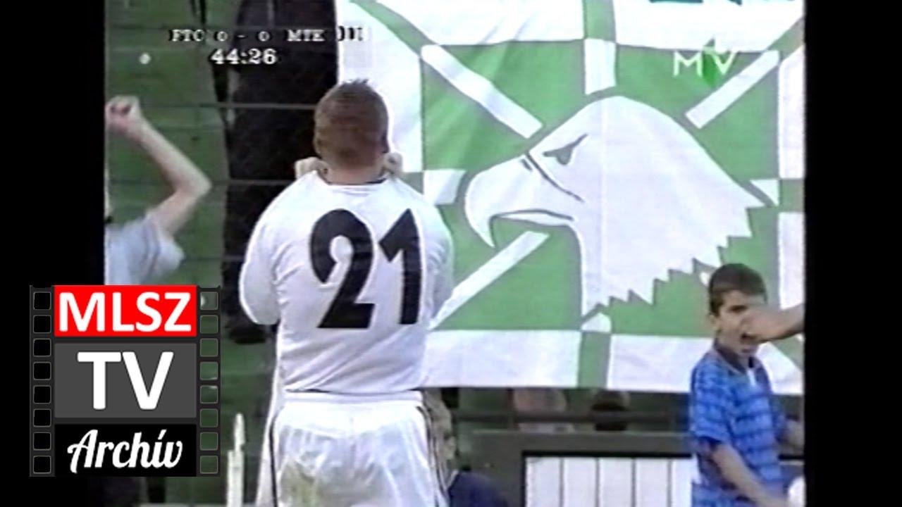 Ferencváros-MTK | 1-0 | 1999. 09. 11 | MLSZ TV Archív
