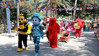 Cyprus-Russian Festival 2018. Parade of Fairy Tale Heroes