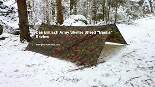 British Army Shelter Sheed DPM