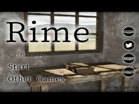 Rime Room Escape Walkthrough
