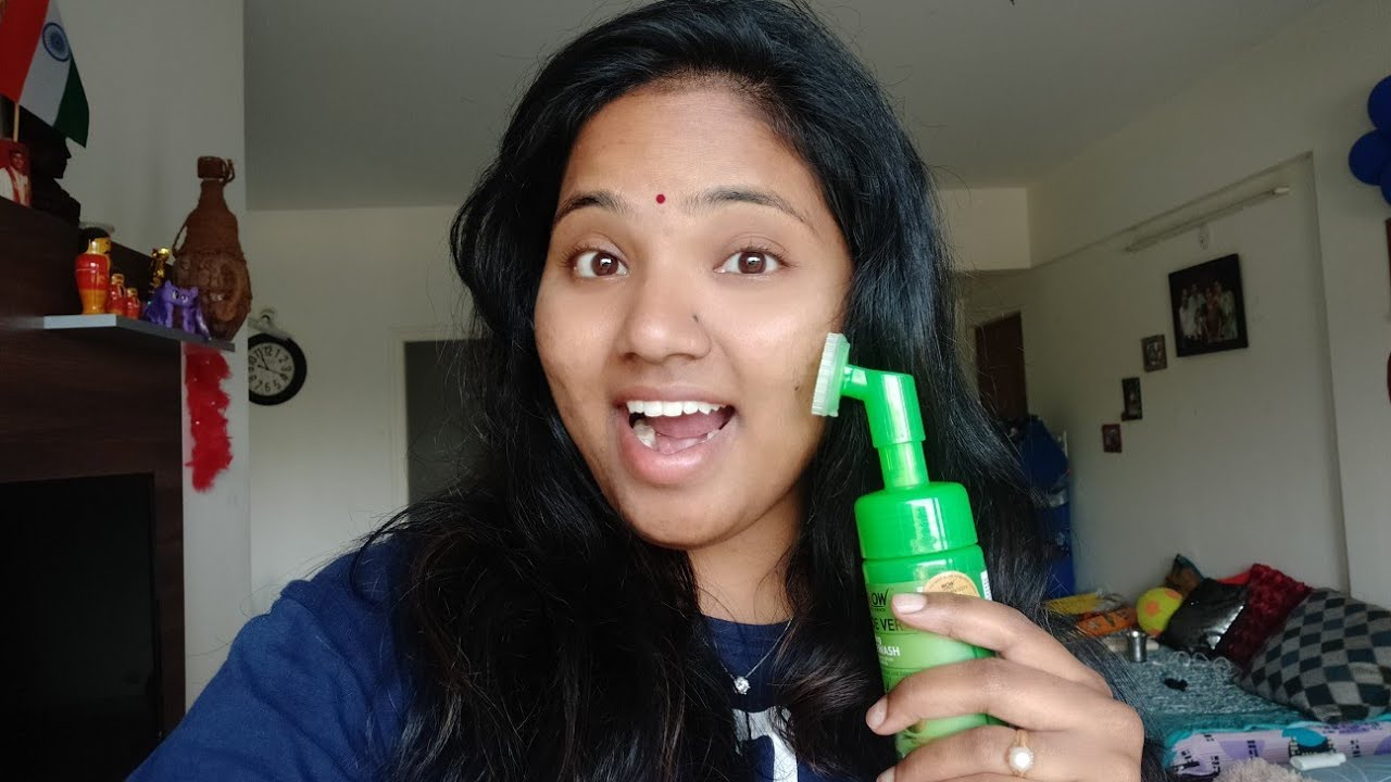 Best face wash for dry skin / Wow sciences Aloever foaming facewash /My honest opinion and review