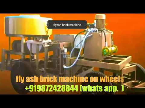 fly ash bricks block machine mobile type