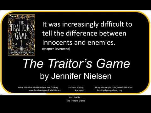 Booktalk The Traitor S Game By Jennifer Nielsen Youtube