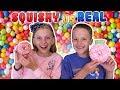 Squishy vs Real Challenge | Bro vs Sis
