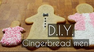 Diy | How To Make Old Fashioned Gingerbread Men