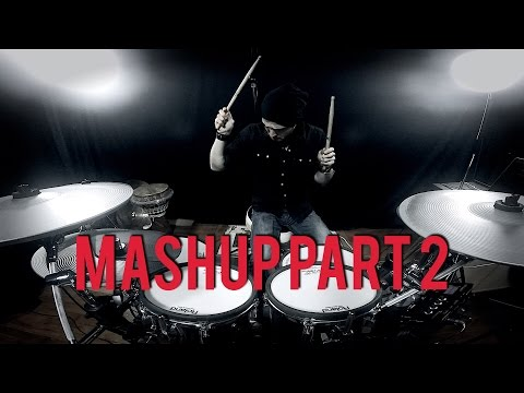 DUBSTEP MASHUP - Pendulum - Prodigy - Skrillex - DRUM REMIX by Adrien Drums