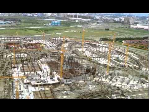 OKADA's MANILA BAY RESORTS & CASINO in Entertainment City Manila - Aug. 1, 2013 Update