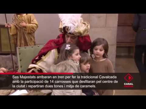 El Camarlenc conclou a la Paeria la seva ruta recollint les cartes i la il·lusió dels més petits