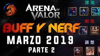 AoV BALANCE de HEROES Marzo 2019   Arena Of Valor   DayMelto Gameplay Español