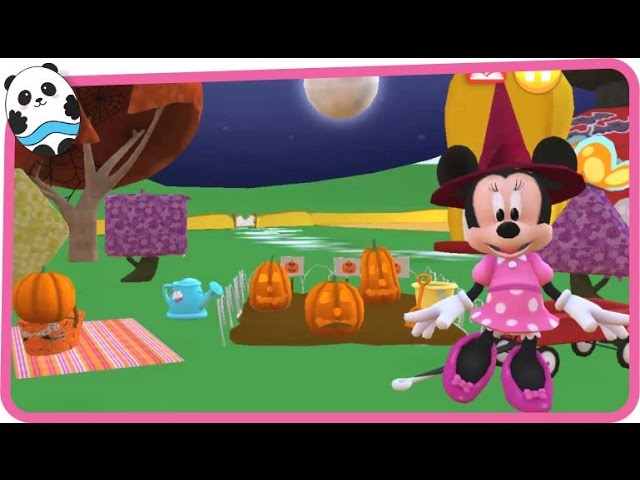 - Disney Color And Play - Minnie Mouse Halloween At The Mickey Mouse  Clubhouse - Coloring Book - YouTube