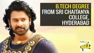 BAHUBALI 2 Movie Cast Educational Qualifications: Prabhas, Anushka Shetty & others