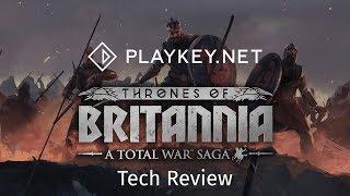 Геймплей Total War Saga: Thrones of Britannia на Playkey.net - викинги уже в Британии!