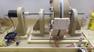 Single Phase Generator_Update 4 - Magnets on the back of the cores for more energy output...