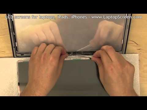 MacBook Air 13 LCD Matrix  Replacement /  Installation Guide [ MacBook Air 13 LCD Matrix Repair]