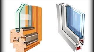 видео Алюминиевые и пластиковые окна, что лучше, почему, особенности