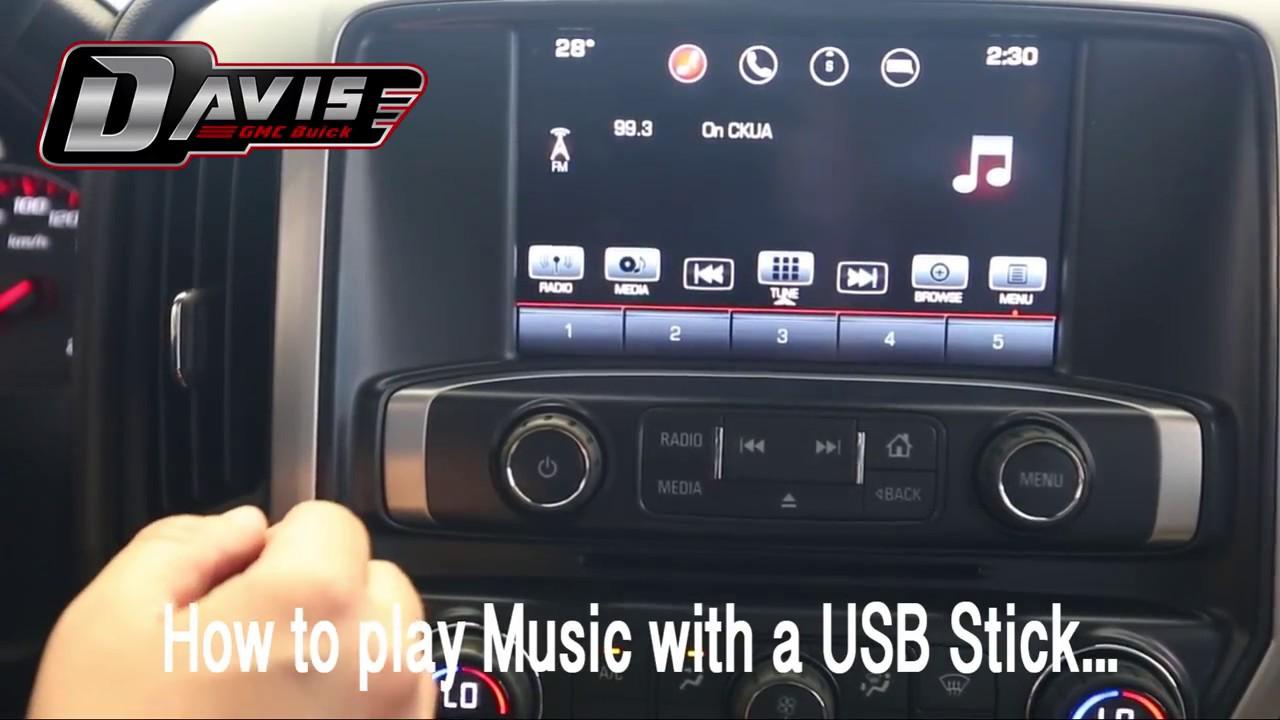 How To Play Music Off A Usb Dear Jarrett At Davis Gmc Buick Youtube