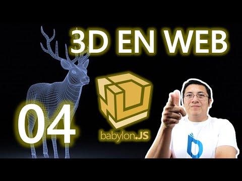 03b.- Curso babylon.js y webgl (Rápido):Transformaciones, control de la textura y color
