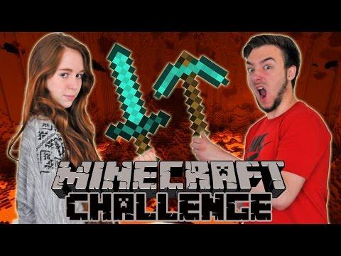 MINECRAFT CHALLENGE en Couple  DavidLafargePokemon VS MissJirachi