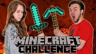 MINECRAFT CHALLENGE en Couple ! DavidLafargePokemon VS MissJirachi !!