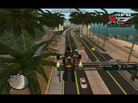 Где найти миниган в GTA San Andreas SUPER CARS