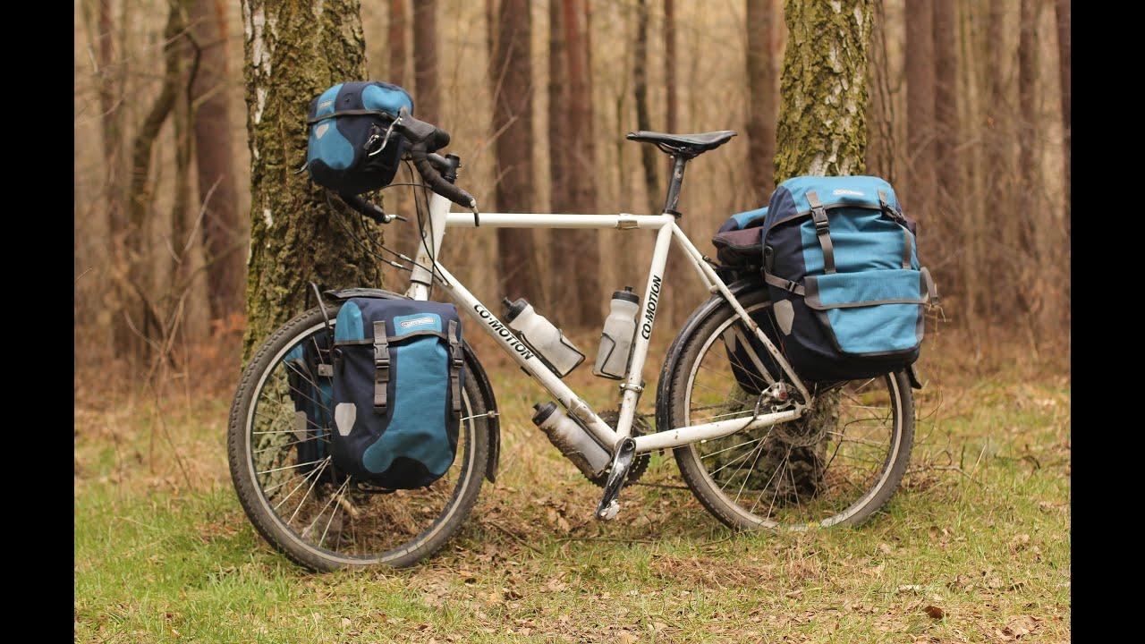Bike Touring Backpack