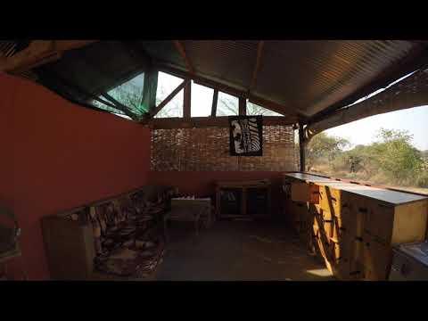 Our upgraded base at Vwaza Wildlife Reserve, Malawi