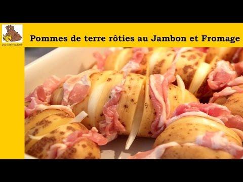 pommes-de-terre-rôties-jambon-et-fromage---recette-facile